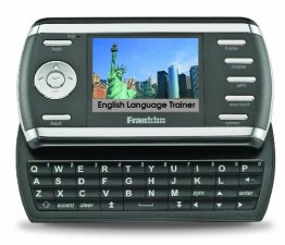Franklin MG-6804D English Language Trainer, mobiler Sprachentrainer, Sprachausgabe, inklusive OALDic, Farb-Display, TV-Out, MP3-Player -