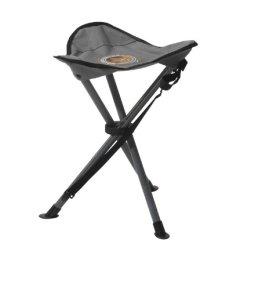 Grand Canyon Stahl 3-Bein-Hocker - Stahl, faltbar, grau/schwarz, 308009 -