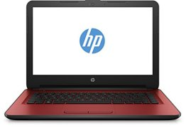 HP 14-am013ng (X3N16EA) 35,6 cm (14 Zoll HD) Notebook (Intel Pentium N3710, 4GB RAM, 500GB HDD, Intel HD-Grafikkarte 405, Windows 10) rot -