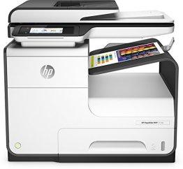 HP PageWide 377dw Multifunktionsdrucker (Drucker, Scanner, Kopierer, Fax, Duplex, WLAN, Netzwerk, ePrint, Airprint, Cloud Print, USB, 2400 x 1200 dpt) weiß -