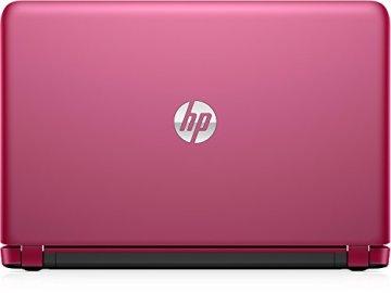 HP Pavilion 15-ab108ng 39,6 cm (15,6 Zoll HD) Notebook (AMD Quad-Core A6-6310, 4GB RAM, 1TB HDD, AMD Radeon (TM) R7 M360, Windows 10) pink -