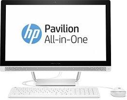 HP Pavilion (24-b154ng) 60,45 cm (23,8 Zoll / FHD IPS) All In One Desktop PC (Intel Core i5-6400T, 8 GB RAM, 1 TB HDD, Intel HD-Grafikkarte 530, Windows 10 Home 64) Weiß -