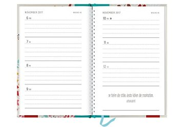 Ideenreich 2017: Terminplaner mit Wochenkalendarium -