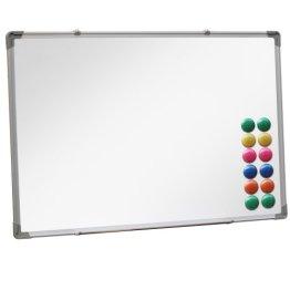 Jago Magnettafel Whiteboard incl.12 Magnete Magnetwand - Größen wählbar -