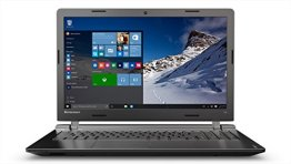 Lenovo ideapad 100 39,62 cm (15,6 Zoll HD) Notebook (Intel Pentium N3540 Quad-Core Prozessor, 2,66 GHz, 8GB RAM, 1TB HDD, Intel HD Grafik, DVD-Brenner, kein Betriebssystem) schwarz -