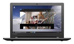 Lenovo ideapad 300 39,6 cm (15,6 Zoll HD) Notebook (Intel Core i5-6200U, 8GB RAM, 1TB HDD, AMD Radeon R5 M330, DVD, Windows 10 Home) schwarz -