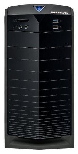 MEDION AKOYA E2049 DR PC System (Intel i3, 3,6GHz, 1TB HDD, 4GB RAM, Intel HD, Windows 8.1, DVD-/CD-Brenner, WLAN, Multikartenleser) schwarz -