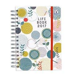 Organised Mum 2017 Life Book in ENGLISCHER SPRACHE (Laufzeit ab sofort bis Dezember 2017) Wöchentlicher Familienplaner mit hilfreichen organisatorischen Funktionen -