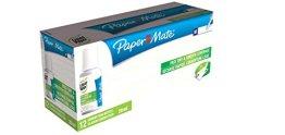 Paper Mate Liquid Paper Glatte Deckung Korrekturflüssigkeit 20ml (12Stück) -