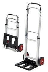 Sackkarre ALU klappbar 90kg Transportkarre Stapelkarre Handkarre Karre -