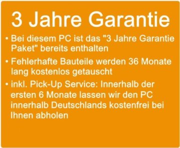 shinobee Flüster-PC Quad-Core Office/Multimedia PC Computer mit 3 Jahren Garantie! inkl. Windows7 Professional - INTEL Quad Core 4x2.41 GHz, 8GB RAM, 128GB SSD, Intel HD Graphics, HDMI, VGA, DVD±RW, Office, USB 3.0 #4894 -