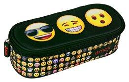 Undercover EMTU7731 - Schlamperbox Emoji, 21 x 9 x 5 cm -
