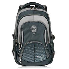 Vbiger Schulrucksack Schulranzen Sportrucksack Backpack für Mädchen Jungen Damen Herren Kinder Jugendliche -
