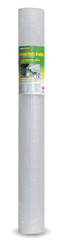 Windhager Kälteschutz Luftpolsterfolie, Transparent, 1 x 5 m, 60 µ -
