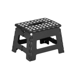 Zeller 99159 Klapphocker, Kunststoff 32 x 25 x 22 cm, schwarz / anthrazit -