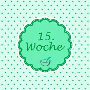15 SSW Meilenstein Schwangerschaft Instagram