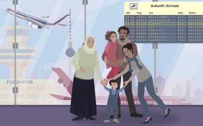 Die FMP Potsdam erklärt Flüchtlingspaten Syrien