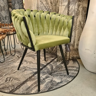 Wave Chair Olive Green Pole to Pole