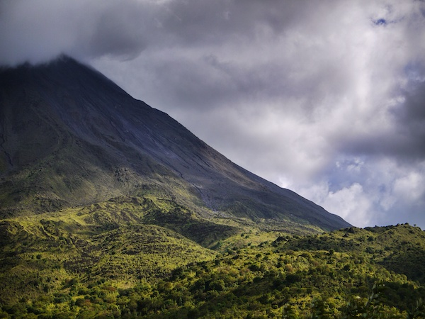 Mount Arenal, a common destination for Costa Rica Vacations