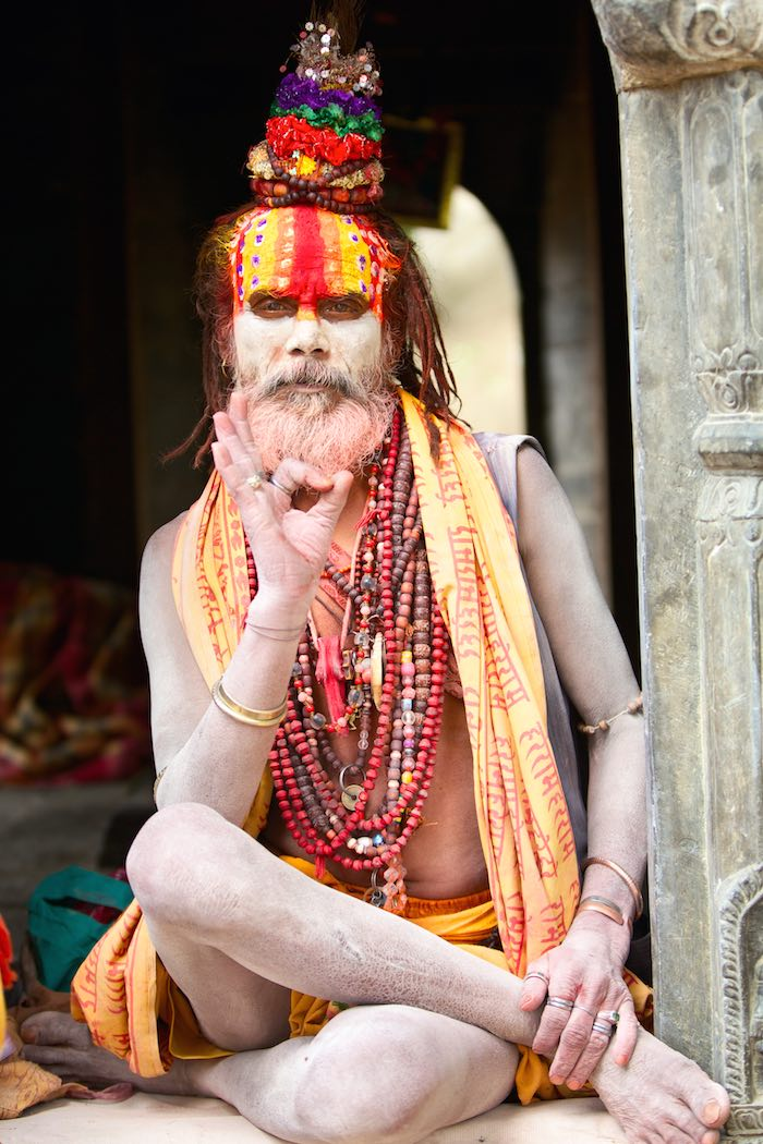 Nepalese Sadhu man • Requires Hate, Hugo Awards, and Laura J. Mixon's nomination for Best Fan Writer