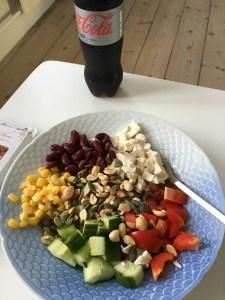 Når jeg forkæler mig selv med alenetid, Mågestel og sund mad.