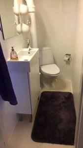 SÅ blev mit badeværelse rent og Deirdre-Ann agtigt igen.... min fine lækre badeværelsesmåtte, mine über lækre håndklæder, der er SÅ rent at du kan spise en makralmad direkte af gulvet!!