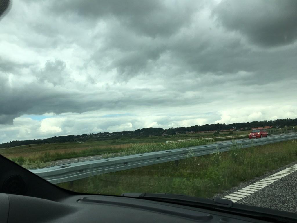 Mega dårligt vejr på vej til Skagen