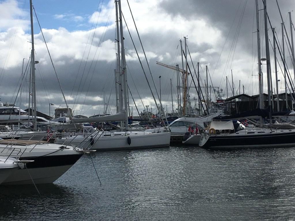 Havnen i Skagen onsdag