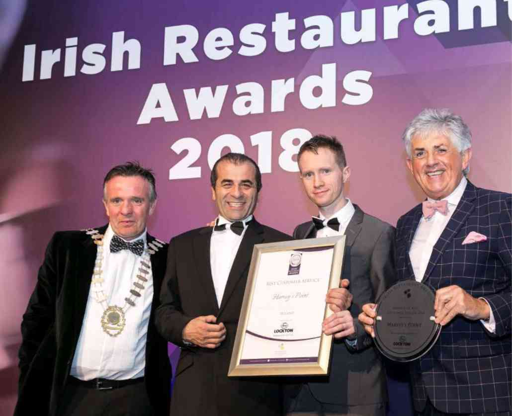 Best Customer Service Ireland - Irish Restaurants Awards 2018