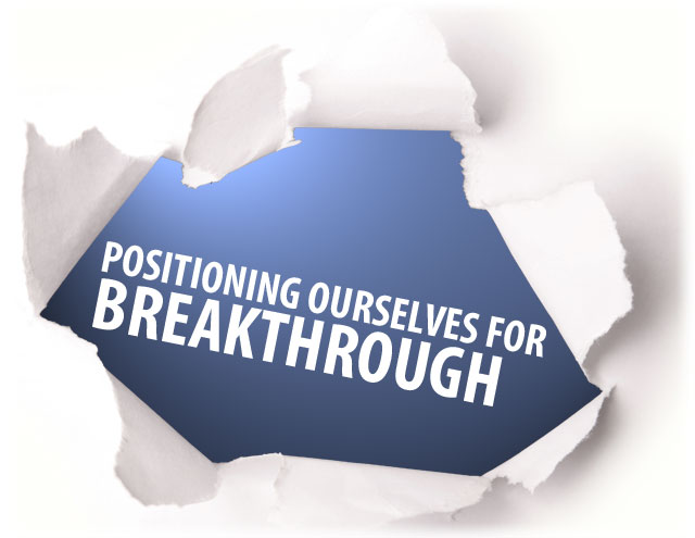 The One Thing You Need For A Breakthrough