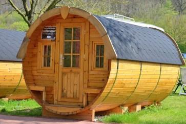 Lust auf eine Nacht im Campingfass?