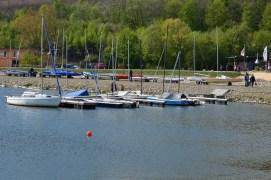 Hafen am Schiedersee (Glashütte)