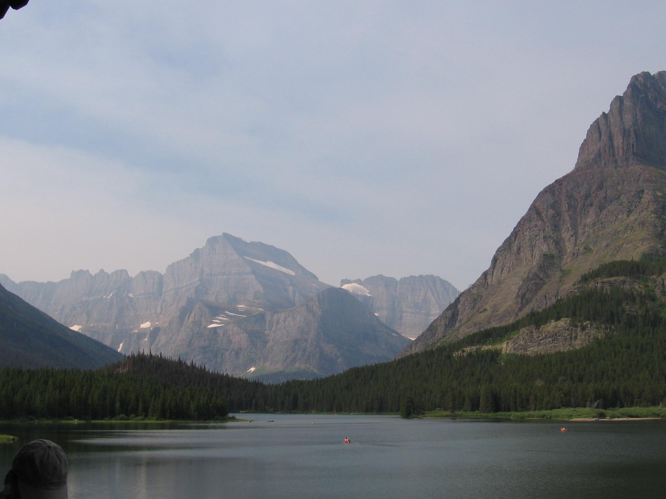 Do sin ee paar Bariye in Glacier National Park, Montana.