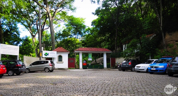 Parque do Grajau entrada