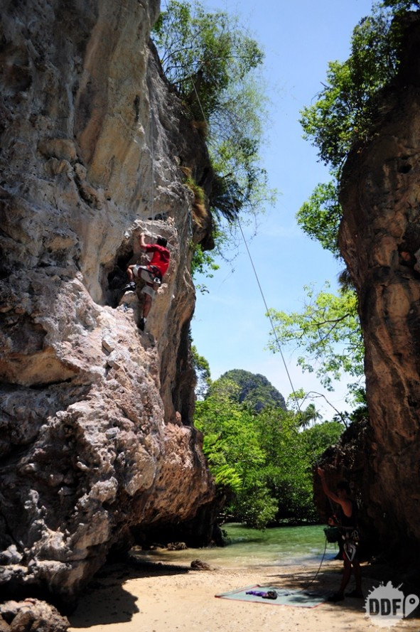 climbing railaybeach tailandia escalada