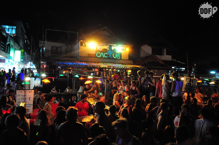 Koh Phangan, Full Moon Party, Tailandia