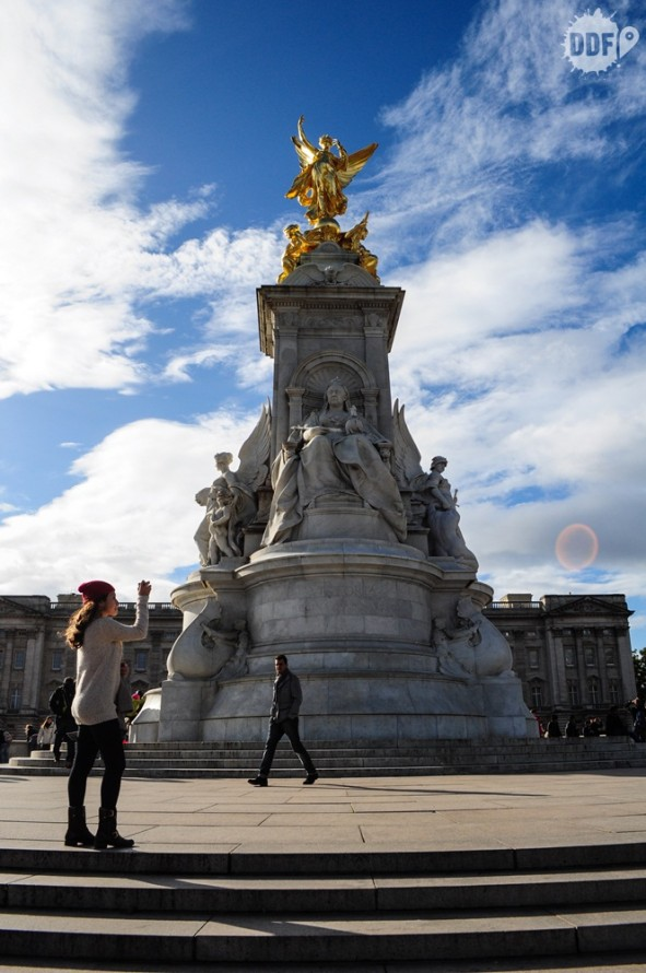 Londres-Palacio-Buckingham-Memorial-Rainha-Vitoria-Victoria-Memorial