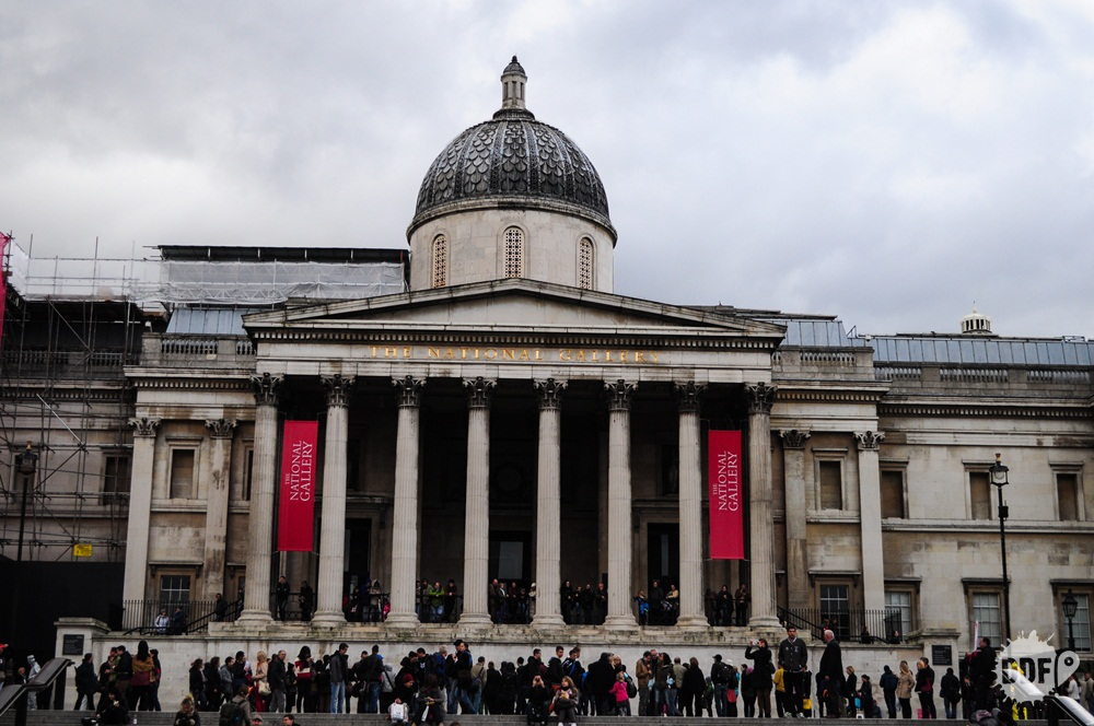 Londres-museus-national-gallery-tralfagar-square-inglaterra