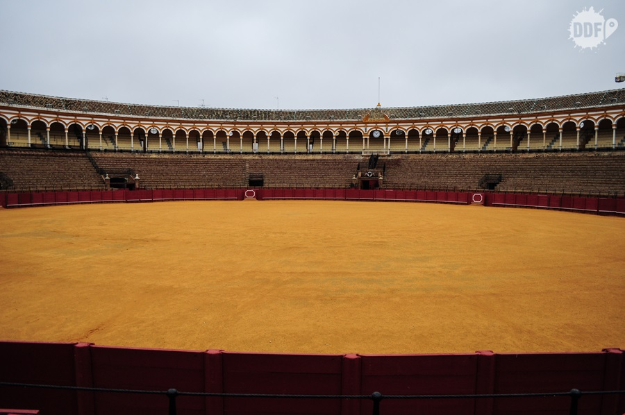 Plaza de Toros, local onde acontem as touradas em Sevilha