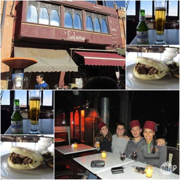 marrakech-onde comer-restaurante-bebida-happy-hour-le-salama-marrocos