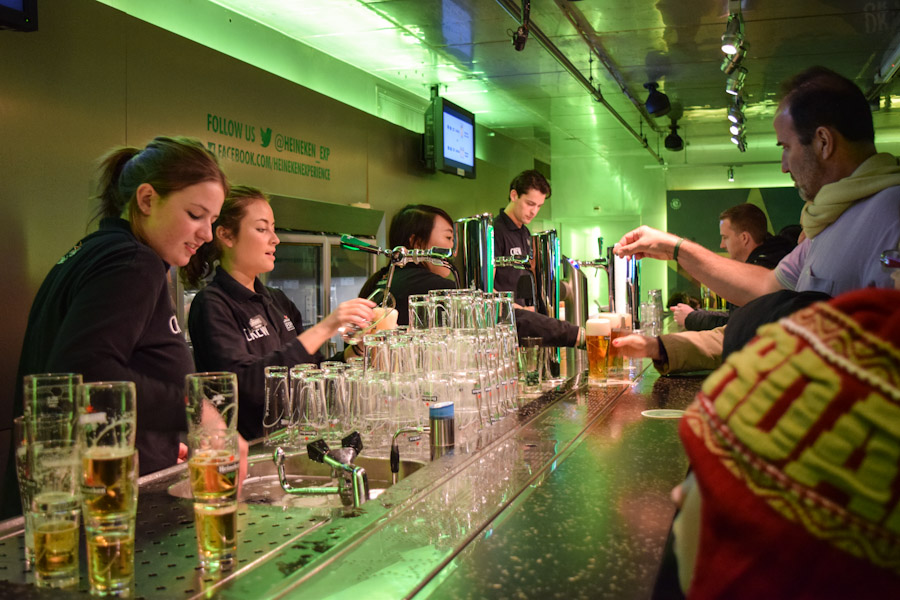 heineken experience world bar