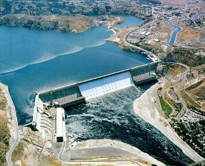 Grand Coulee Dam on the Columbia River