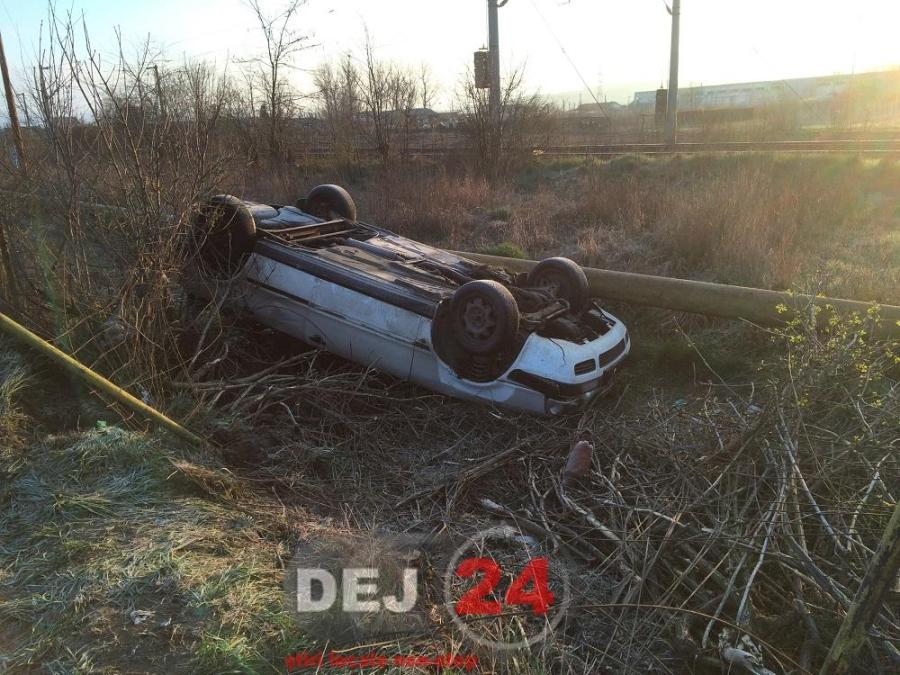 accident 1 Mai masina rasturnata (1)