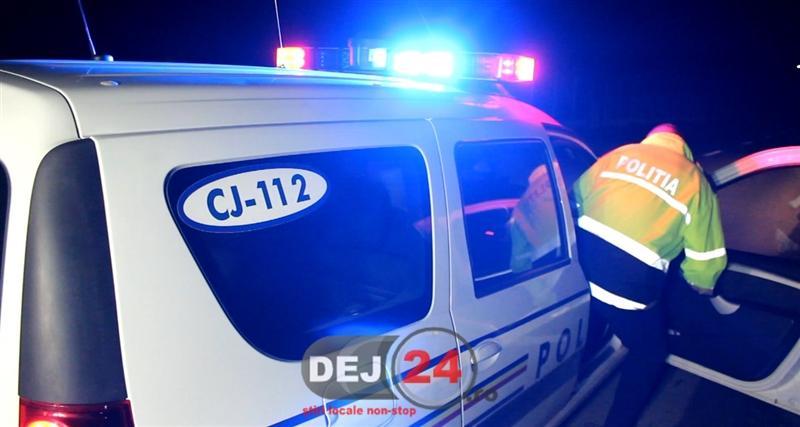 Accident fost politist beat Gherla (5)