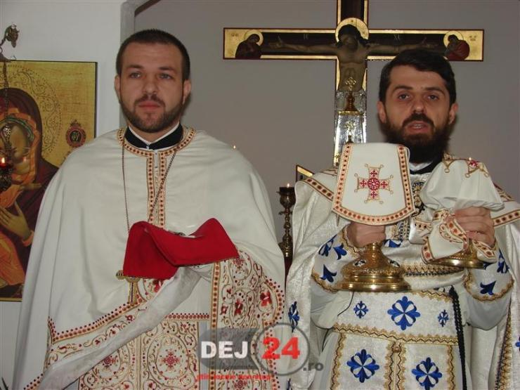 Protopop Ioan Buftea vizita Ieromonah Benedict Vesa (1)