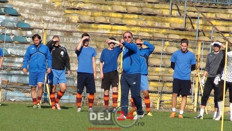 antrenament Unirea Dej Valentin Sinescu (1)