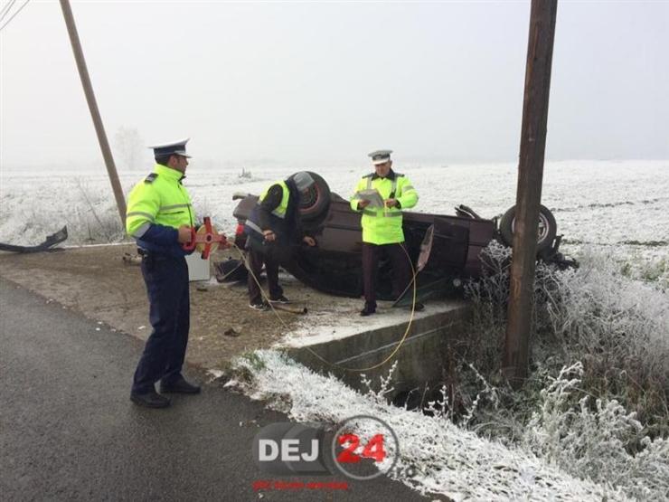Accident DN1C Iclod polei (3)