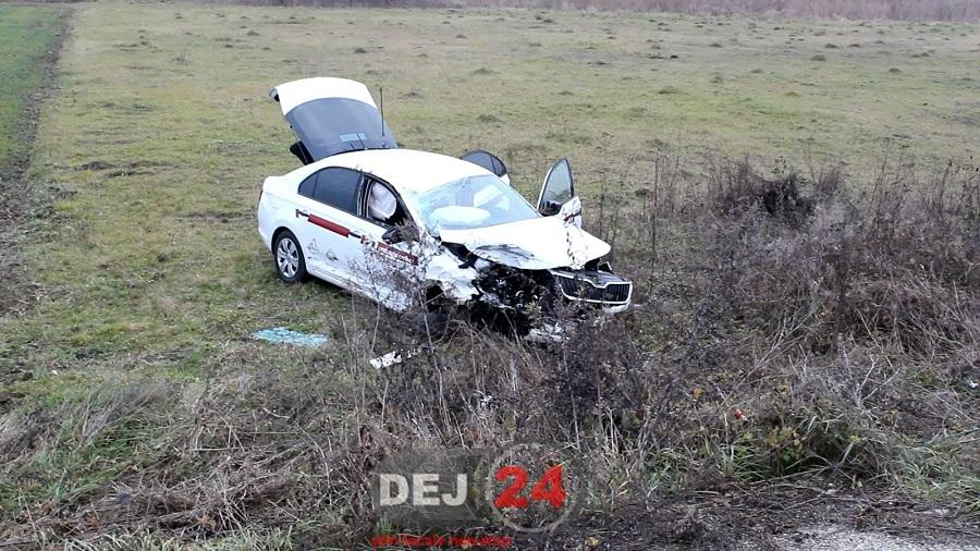 accident iesire din Gherla (1)