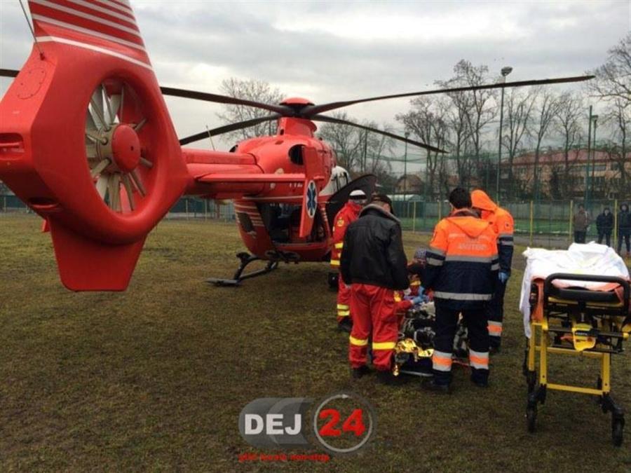 Elicopter SMURD femeie arsuri Osorhel (3)