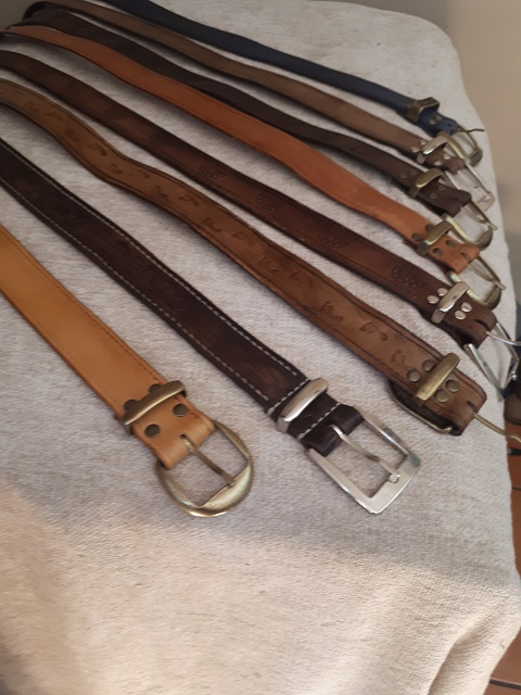 Leather belts 2